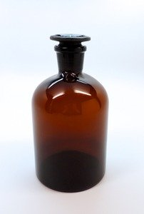 SEOH Reagent Bottle Amber Glass - Capacity (ml) 1000