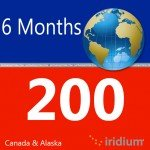 Iridium Global Prepaid Airtime SIM Card (200 Minutes (Northern Lights))