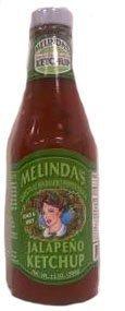 Melinda's Jalapeno Ketchup Tangy & Spicy 13oz (3 Bottles) (Jalapeno Melindas)