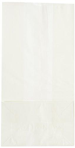 4 Lb White Paper Bags - 2