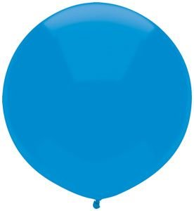 17'' Bright Blue Outdoor Latex Balloons - Pack of 5