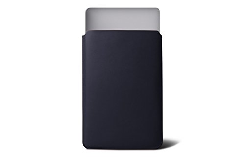 Lucrin - Etui für MacBook Air 13 Zoll - Königsblau - Glattleder Königsblau