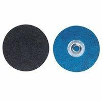 Bluefire R884P Coated Cloth Disc, Zirconia Alumina, 3 in Dia., 36 Grit - 25 Each