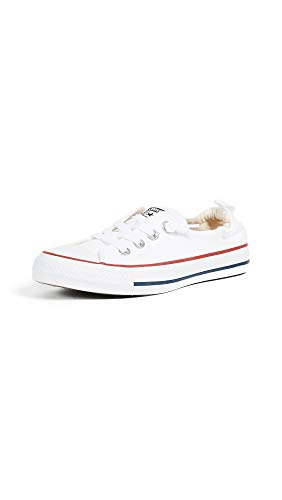 Image of Converse Chuck Taylor All Star Shoreline White Lace-Up Sneaker - 8.5