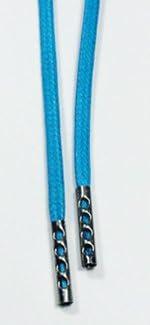 (クツヒモドットコム)靴ひも.com ワークブーツ用靴紐・緑×黒(約4mm) 80cm・90cm・100cm