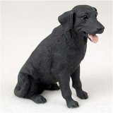 Black Original Dog Figurine (Labrador Retriever, Black Original Dog Figurine (4in-5in))