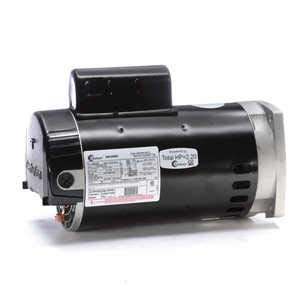 (1.5 hp 2-Speed 56Y Frame 230V Square Flange Pool Motor Century # B2983)