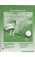 Download Holt McDougal Concepts & Skills: Notetaking Guide Algebra 2 PDF