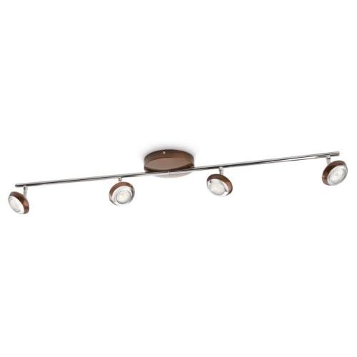 chollos oferta descuentos barato Philips Lighting Foco 571744416 Marrón 4 luces