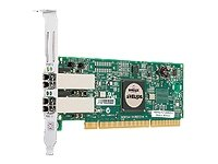(Emulex LightPulse LP11002-M4 - Host bus adapter - PCI-X low profile - 4Gb Fibre Channel - fiber optic - 2 ports)