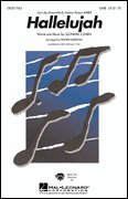 Hallelujah Pop Choral Series Satb (Pop Choral Series SATB, Sheet Music)