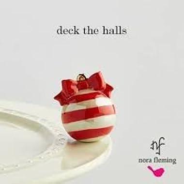 Nora Fleming Ornament Mini - Nora Fleming Deck the Halls Mini A171