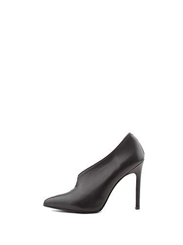 Zapatos 8138nero Albano Negro Mujer Altos Cuero wqUBT6