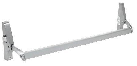 CRL Aluminum Cross Bar Panic Exit Device - Left Hand - Reverse Bevel Rim (Panic Device)