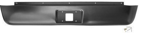 IPCW CWRS-07SV Chevrolet Silverado Steel Fleetside Roll Pan with License Plate Hole and Light