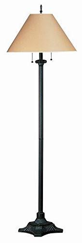 Cal Lighting BO-433-RU Two Light Floor Lamp