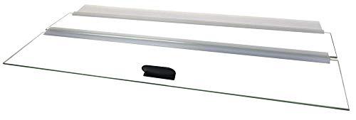 H2Pro 30' Glass Canopy 20 Long/29 Gallon Aquarium Fish Tank (29.21 x 11.69 x 0.16in)
