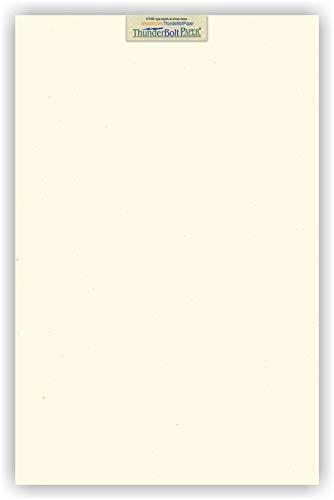 (25 Earthy Cottonwood Fiber Cover Paper Sheets - 11