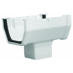 GENOVA Products RW104 Gutter Drop Outlet, White