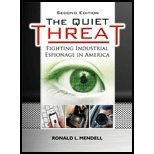 Quiet Threat- Fighting Industrial Espionage in America (2nd, 10) by Mendell, Ronald L [Hardcover (2010)]