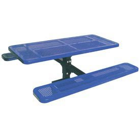 Single Pedestal Table, Surface Mount, Perforated 72