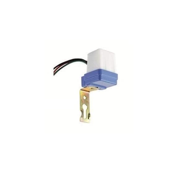 Quick Sense QS-301 Waterproof 220 V Auto Day/Night on and Off Photocell, LDR Sensor Switch 6 A for Lighting (White)