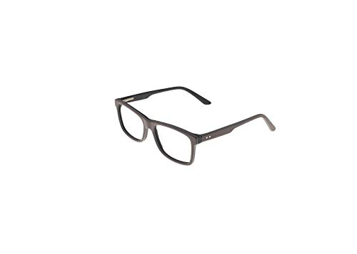OCCI CHIARI Mens' Rectangle Stylish Plastic Eyewear Frame With Clear Lenses -