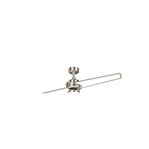 Kichler 300702NI 56``Ceiling Fan, Brushed Nickel (56' Fan Ceiling Transitional)
