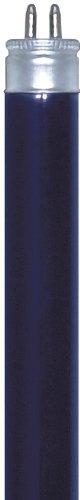 Satco S2907 6-Watt Mini Bi Pin T5 Preheat Lamp, Black Light Blue (Preheat Fluorescent Bulb)