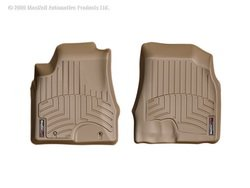 WeatherTech Custom Fit Front FloorLiner for Lexus RX330, Tan