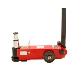 American Forge & Foundry IN546SD 25 10 Ton 2 Stage Air Hydraulic Axle Jack