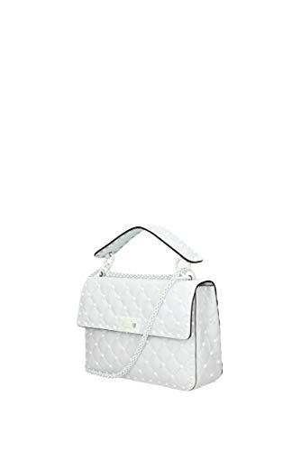 Femme Blanc Cuir main Sacs 2B0122RVH Garavani Valentino à cp1SS