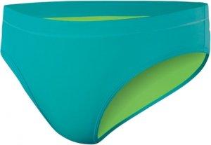 NIKE SWIM Perfect Solids Reversible Boy Brief,Turbo Green/Mean Green (357),L