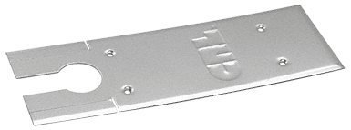 C.R. LAURENCE CRL85CPBS CRL Brushed Stainless Cover Plates for 8500 Series Floor Mounted Closer by C.R. Laurence