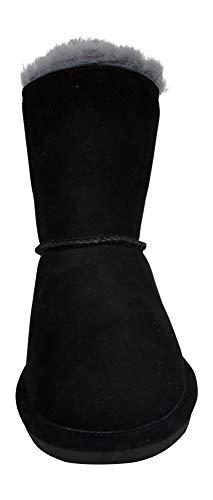 Winter Rosie Grey BEARPAW Fur Boot Women's Black zTqA5wAEx