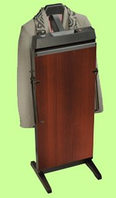 Corby 3300 Pants Press Valet Rich Walnut Wood Effect ()