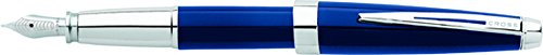 Cross Aventura Starry Blue Fountain Pen with Medium Nib (AT0156-2MS) - Cross Fountain Pen Converter