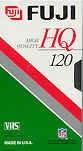 Fuji High Quality VHS Tapes, 5 Pack