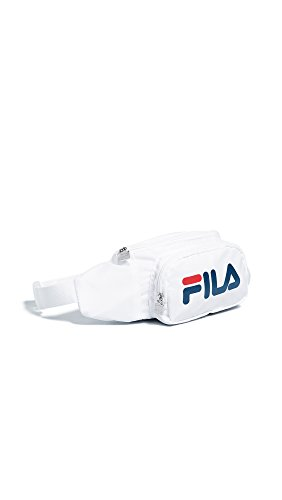 Fila Women's Fanny Pack, White/Red/Peacoat, One Size from Fila