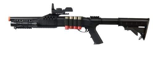 UKARMS Tactical Specialist RIS Spring Airsoft Shotgun FPS-320 w/Accessories