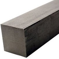 RMP Hot Rolled A-36 Square Bar, 1 Inch Square, 12 Inch Length, Mill Finish (Steel Square Bar)