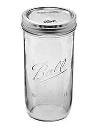 Ball 24 oz Jar, Wide mouth, 24 ounce
