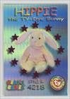 Hippie the Ty-Dye Bunny #/7,200 (Trading Card) 1999 Ty Beanie Babies Series 3 - [Base] - Chase Magenta #53
