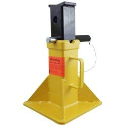 ESCO 10455 Pin Style Jack Stand, Short Style, 22 Ton Capacity, 20 Inch Height