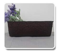 SeedWorld Storage Baskets - Handmade Straw Storage Box Seagrass Basket Rattan Fruit Container Makeup Organizer Woven Storage Baskets Wicker Baskets 1 -