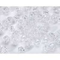Faceted Beads 8mm Crystal 480pc