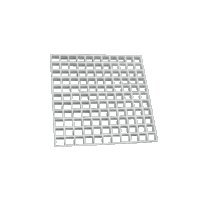 Bramec Corporation 13833 3/8 EGG CRATE (Eggcrate Louver)