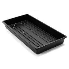 1020 Plant Trays for Seedlings, Microgreens, Wheatgrass, Extra Heavy Duty, No Holes, Food Grade, BPA Free, 5 Pack by King Creek Farms (Image #4)