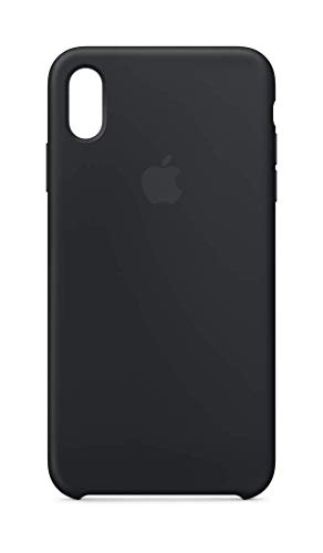 Apple Silicone Case (for iPhone Xs Max) - Black ()
