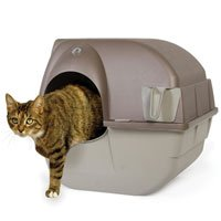 Omega Paw Roll'n Clean Litter Box by Omega Paw